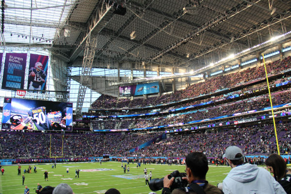 The Super Bowl 52 is one of the biggest sports events for betting - Photo by Quintin3265